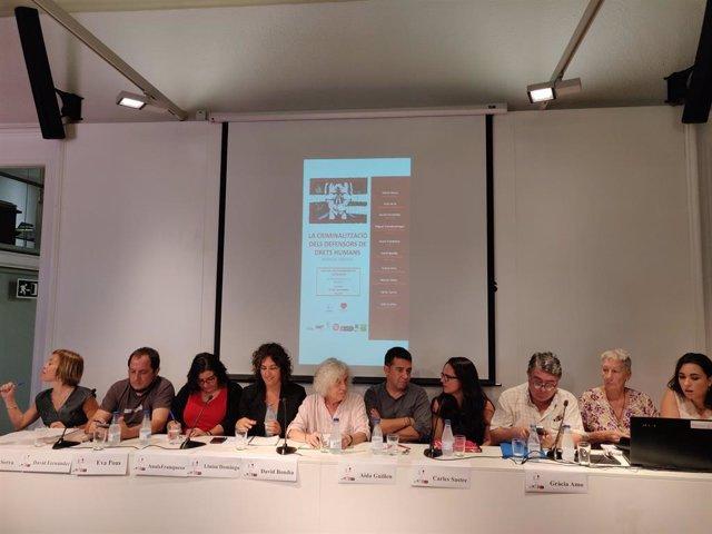 Laia Serra, David Fernàndez, Eva Pous, Anaïs Franquesa, Lluisa Domingo, David Bondia, Aida Guillin, Carles Sastre, Gràcia Estimo.