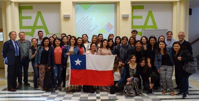 Sanitarios chilenos conocen en Granada el modelo de gestión de los centros sanitarios