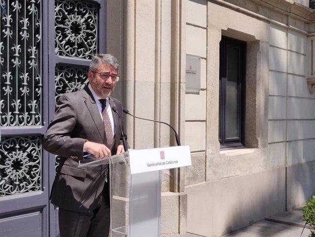 L'exdirector general dels Mossos d'Esquadra Andreu J. Martínez.