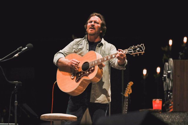 Eddie Vedder en el WiZink Center (Madrid)