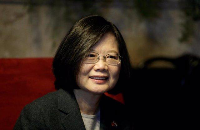 La presidenta de Taiwán, Tsai Ing Wen