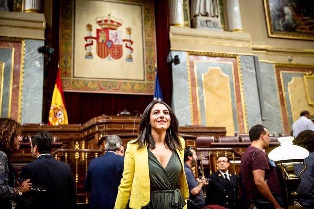 Diputada de Cs al Congreso por BAdajoz, María José Calderon,