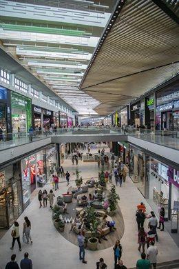 Una imagen del centro comercial Lagoh, tras su inauguración