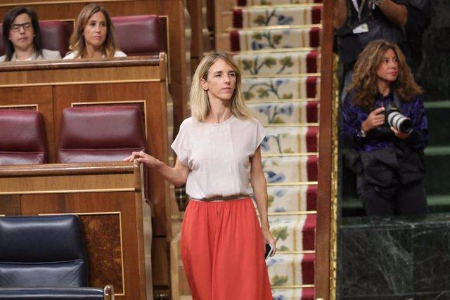 La portavoz parlamentaria del PP, Cayetana Álvarez de Toledo, llega a la segunda reunión del período de sesiones de la XIII legislatura del Congreso de los Diputados, en Madrid (España), a 17 de septiembre de 2019.