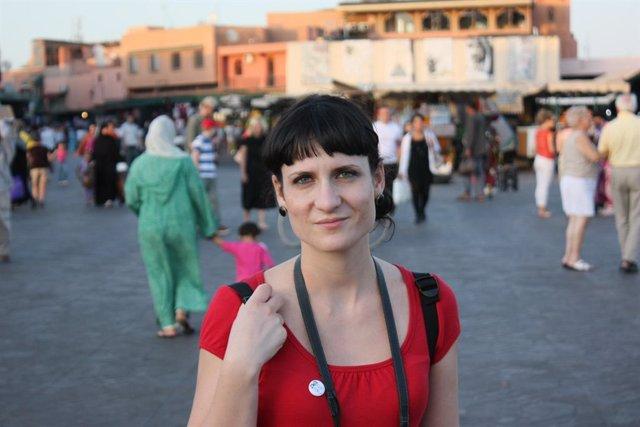 L'escriptora Elisa Ferrer
