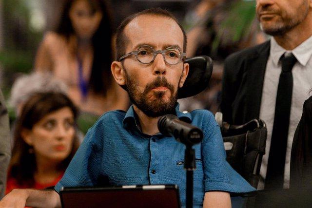 El secretari d'Acció de Govern d'Unides Podem, Pablo Echenique