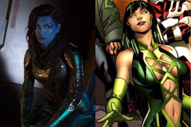 Gemma Chan como Sersi en Los eternos de Marvel