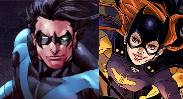 Nightwing y Batgirl en los cómics de DC