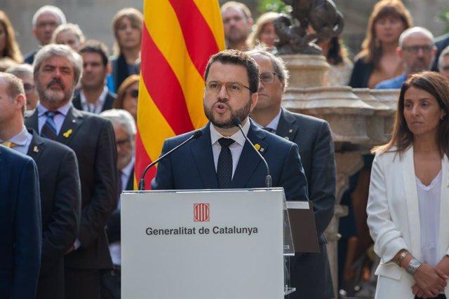 El vicepresident del Govern, Pere Aragons.