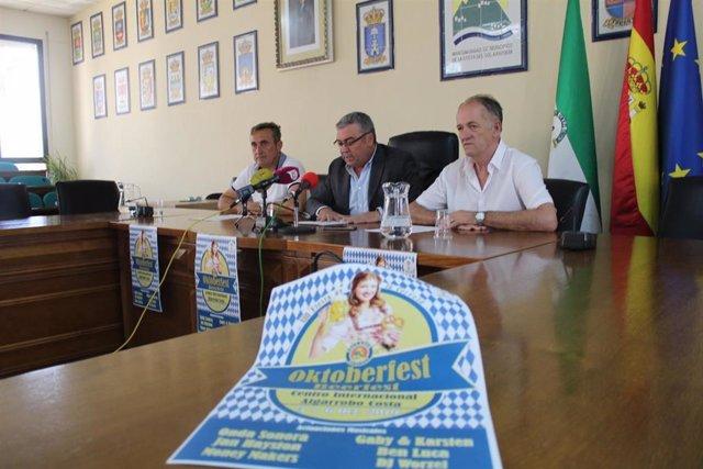 Presentación del Oktoberfest de Algarrobo costa que se celebra el primer fin de semana de octubre