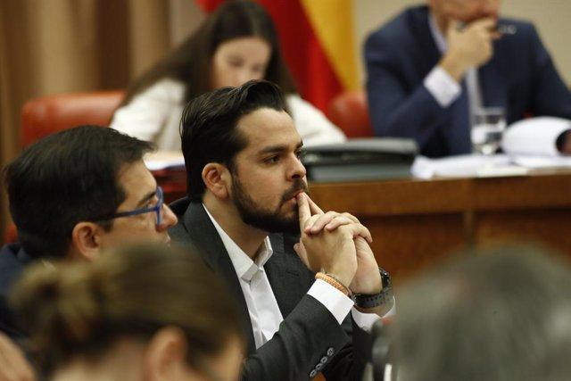 El secretari de comunicació de Ciutadans, Fernando de Páramo,