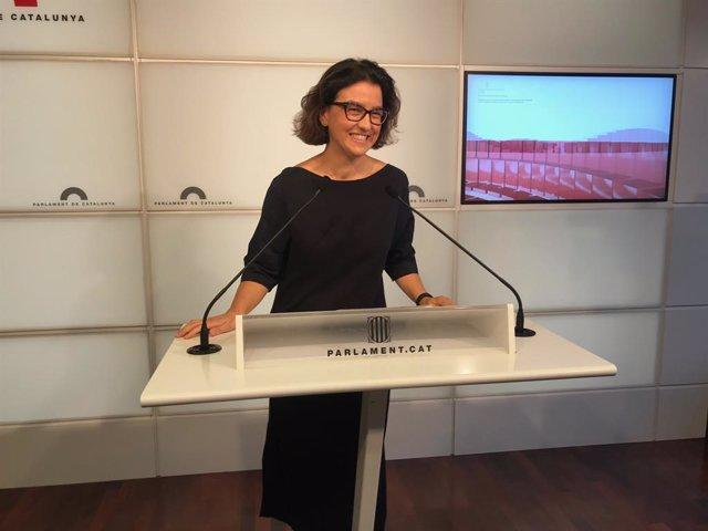 La portaveu del PSC, Eva Granados