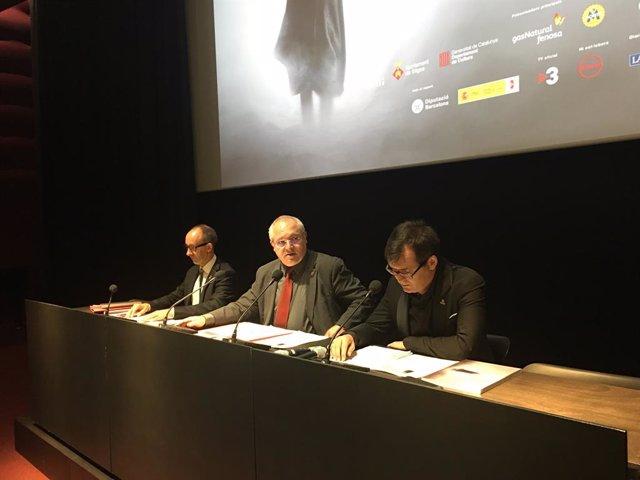 Miquel Forns, Lluís Puig i Àngel Sala