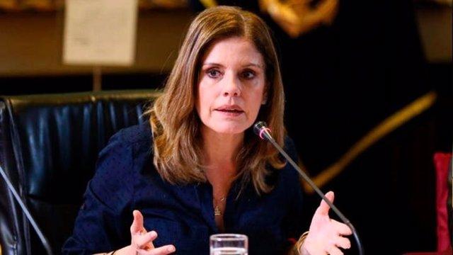La vicepresidenta de Perú, Mercedes Aráoz.