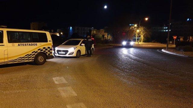 Control policial Ibiza, drogas, alcohol, recurso