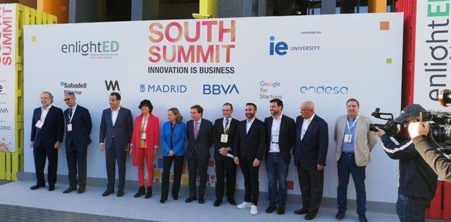 Foto familia de la primera jornada de South Summit en Madrid