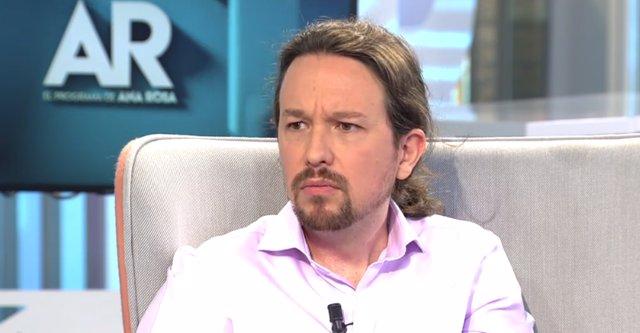 Entrevista al líder de Podemos, Pablo Iglesias