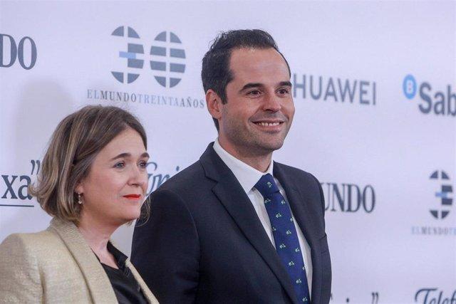 El vicepresidente de la Comunidad de Madrid, Ignacio Aguado, asiste al acto de conmemoración del 30º Aniversario del diario 'El Mundo'.