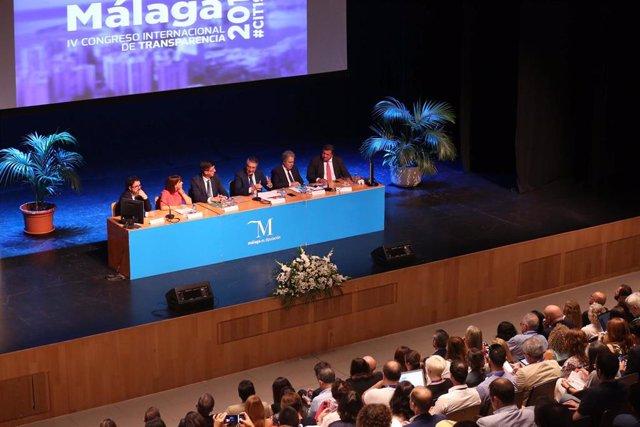 Foro sobre Transparencia celebrado en Málaga