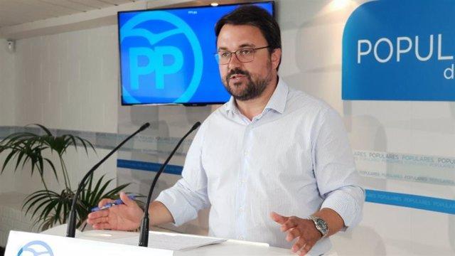 Asier Antona, senador del PP