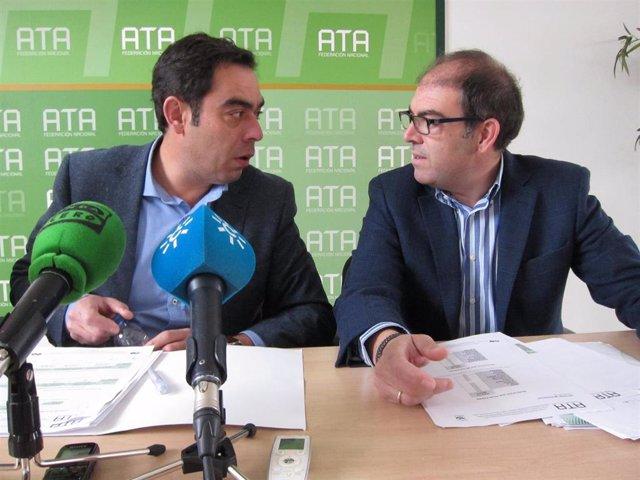 Rafael y Lorenzo Amor, en una imagen de archivo.
