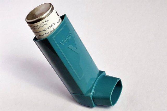 Asma, EPOC, inhalador.