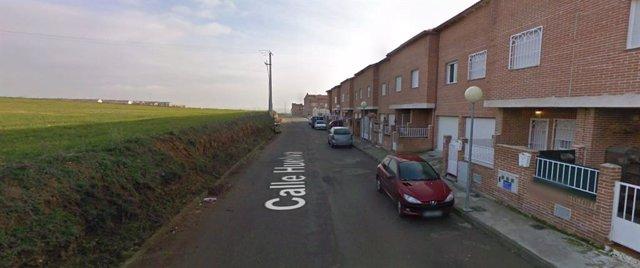 Calle Huelva de Chozas de Canales