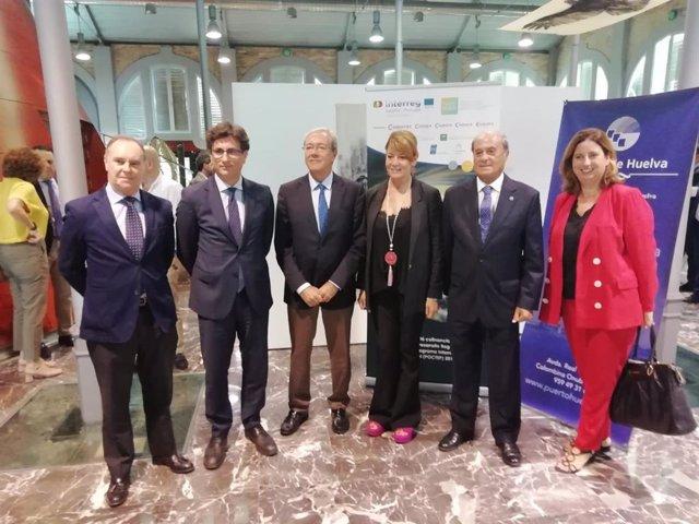 Rogelio Velasco participa en unas jornadas sobre el Brexit en Huelva.