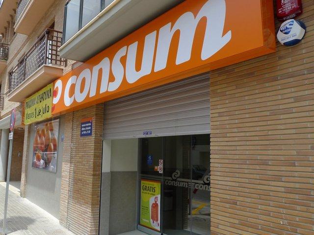 Supermercado Consum.