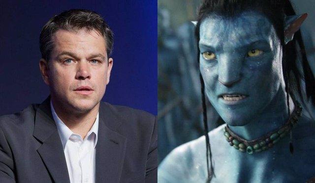 Matt Damon rechazó protagonizar Avatar