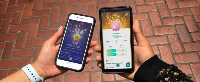 Pokémon con suerte en Pokémon GO