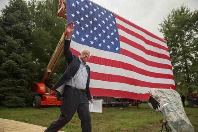 El candidat demòcrata a la nominació a la presidència dels EUA, Bernie Sanders