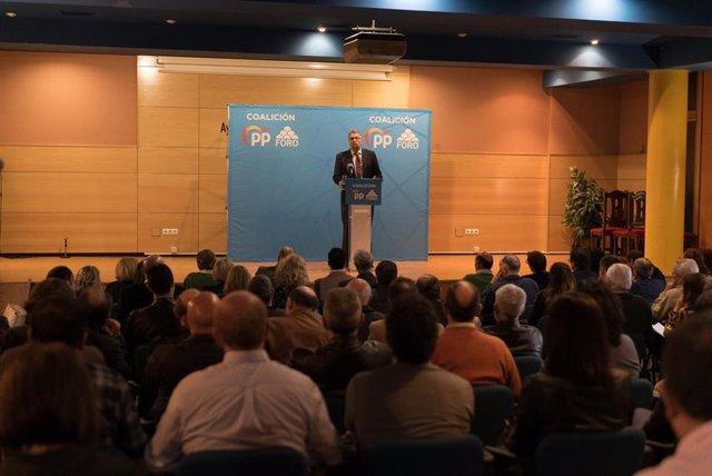 10N.- El acuerdo de coalición entre PP y Foro mantiene a Martínez Oblanca como número dos de la candidatura al Congreso