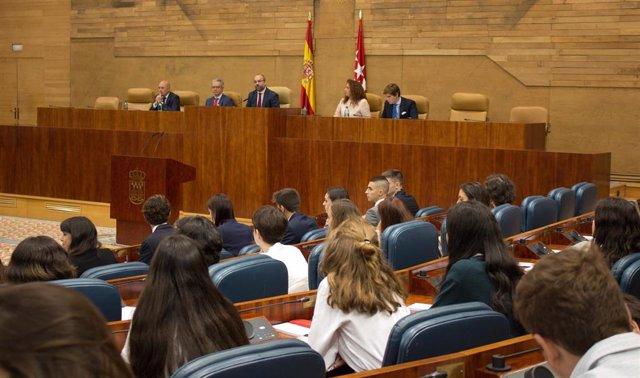 Imagen de recurso del Pleno de la Asamblea de Madrid