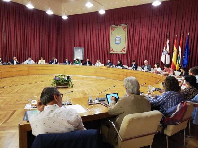 El pleno del Ayuntamiento de Logroño del mes de octubre ha conocido las líneas principales del presupuesto municipal 2020