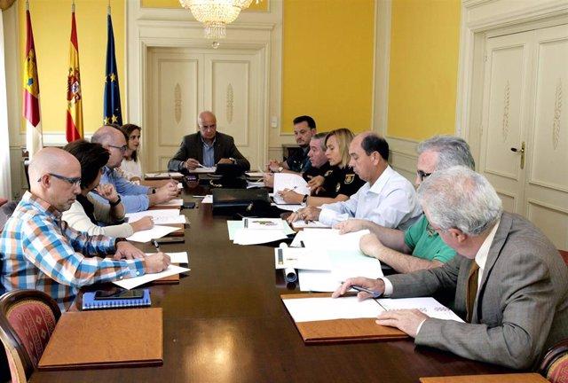 Reunión del Plan Director para Centros Educativos de Cuenca