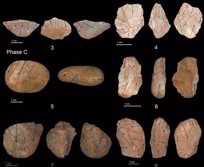 Utensilios de piedra en miniatura de 45.000 años hallados en Sri Lanka