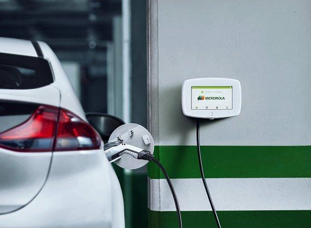 Punto de recarga Smart Mobility de Iberdrola