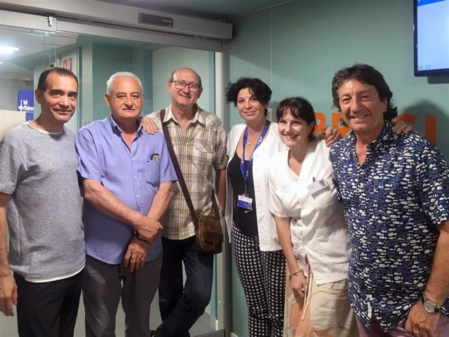 Visita a la Unidad de FQ Vall D'Hebron