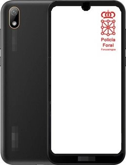 Imagen de un teléfono similar al robado.