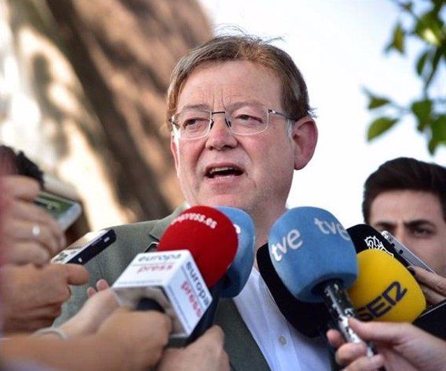 El presidente de la Generalitat, Ximo Puig, en una imagen reciente.