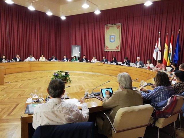El pleno del Ayuntamiento de Logroño ha aprobado este jueves la declaración de emergencia climática.