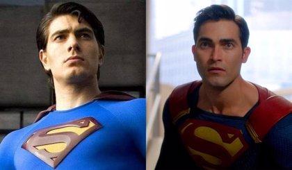 Crisis en Tierras Infinitas: Superman (Tyler Hoechlin) y Superman (Brandon Routh), juntos en una nueva imagen
