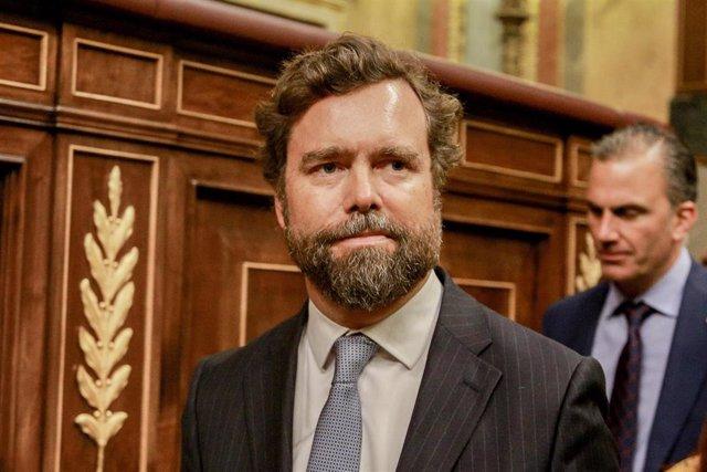 El portavoz de Vox en el Congreso de los Diputados, Iván Espinosa de los Monteros.