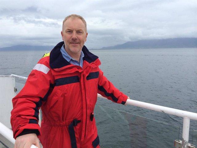 El periodista ambiental de la BBC Matt McGrath ganador del I Premio Biophilia de Comunicación Medioambiental 2019 de la Fundación BBVA.