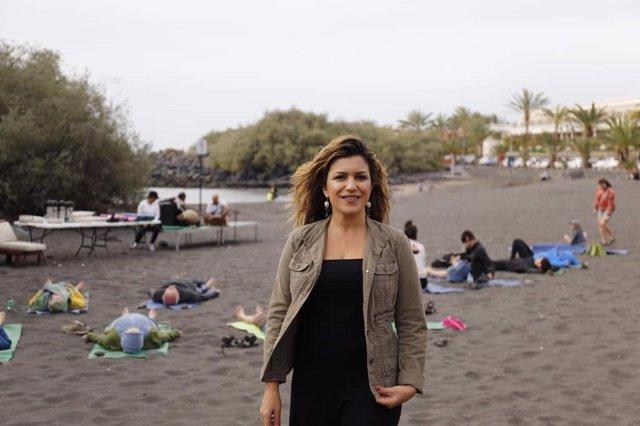 María Isabel Méndez, consejera de Turismo del Cabildo de La Gomera