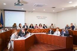 Comisión de Gobierno de Barcelona en Sant Andreu.