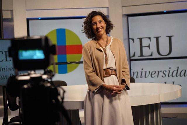 María Solano Altaba, decana de la Facultad de Humanidades y CC de la Comunicación de la Universidad CEU San Pablo