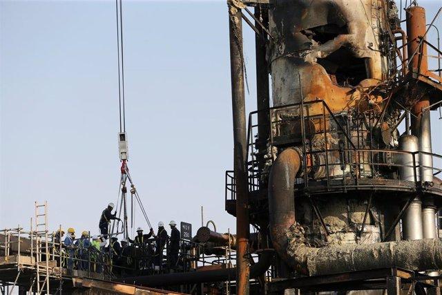 Instalaciones de Aramco en Abqaiq atacadas