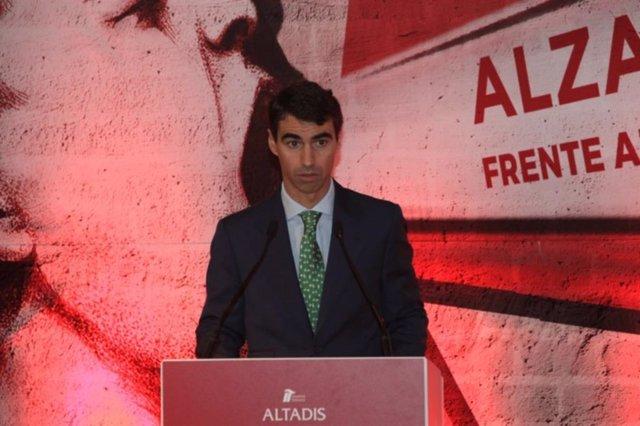 El presidente de Altadis